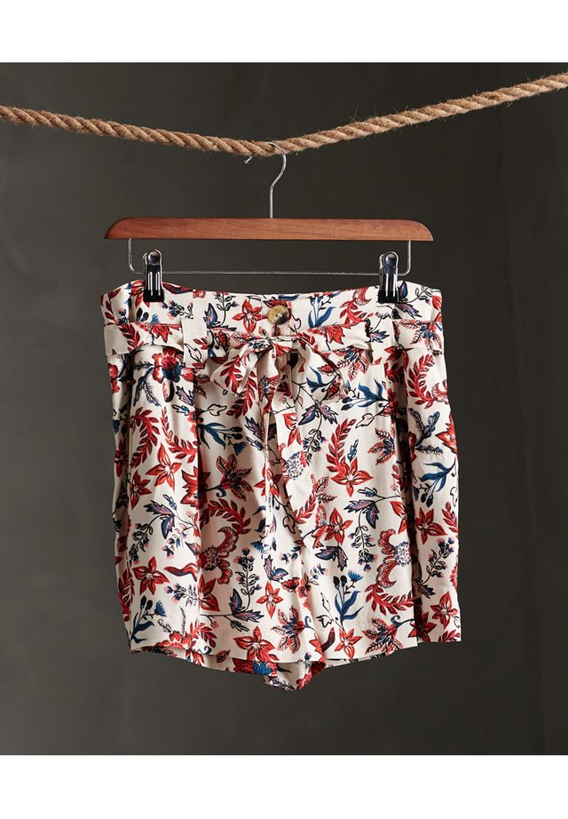 DESERT PRINTED - Shorts - white aop