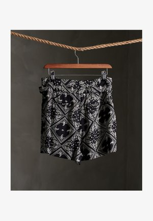 DESERT PRINTED - Shorts - black aop