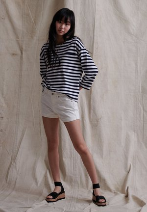 Shorts di jeans - Denim Optic White
