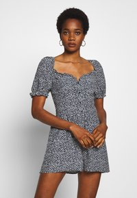 Superdry - QUINCY SUMMER PLAYSUIT - Jumpsuit - navy ditsy - 0