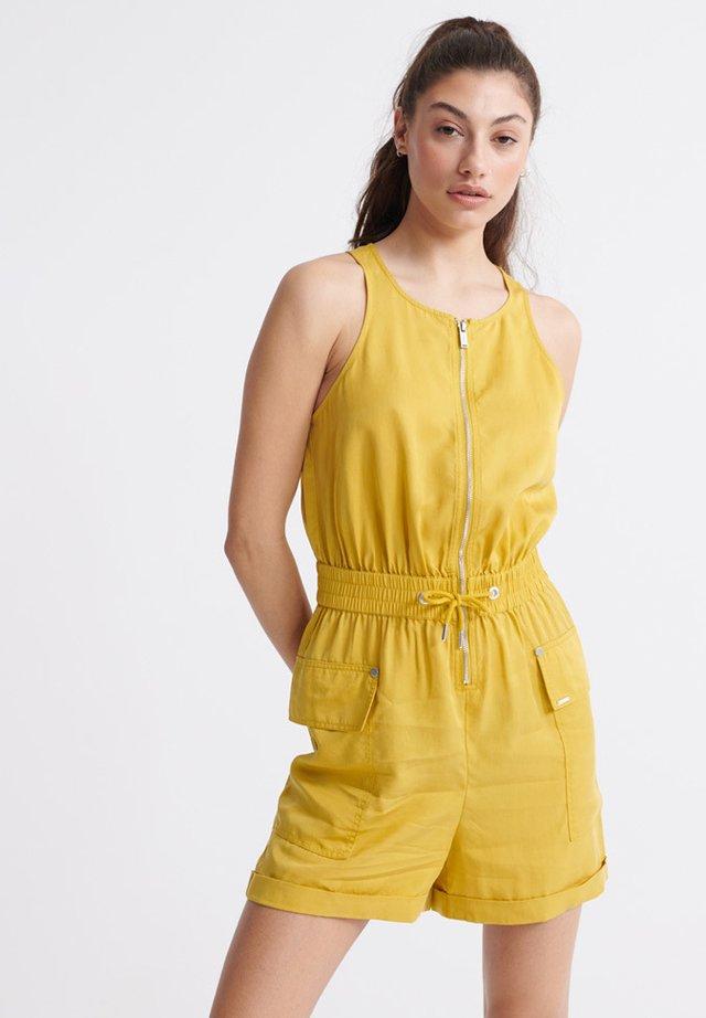 Kombinezon - oil yellow