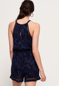 Superdry - Jumpsuit - Navy Moody Tropical - 2