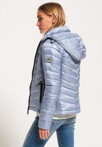 Superdry - LUXE CHEVRON FUJI  - Light jacket - metal grey - 2