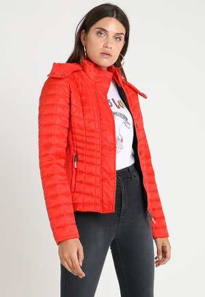 NOVA BOX QUILT FUJI  - Light jacket - fire red