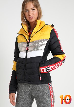 COLLAB COLOR BLOX FUJI PADDED - Veste d'hiver - premium yellow