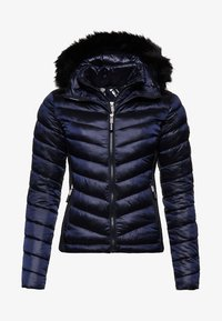 Superdry - LUXE CHEVRON FUJI  - Winterjacke - navy tansanite - 4