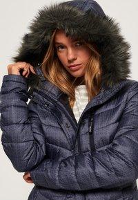 Superdry - DAMEN - Zimní kabát - dark grey - 3