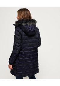 Superdry - LUXE  - Abrigo de invierno - navy blue - 2