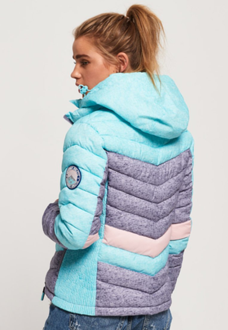 Superdry OFFSHORE CHEVRON FUJI - Winterjacke blue