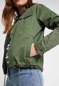 Superdry - IDAHO ROOKIE SHACKET - Summer jacket - dusty sage - 5