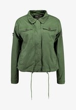 IDAHO ROOKIE SHACKET - Summer jacket - dusty sage
