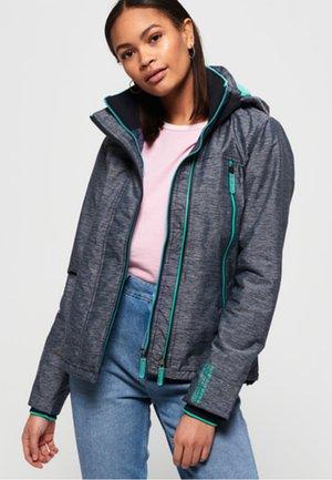 Light jacket - navy mega grit / cool mint