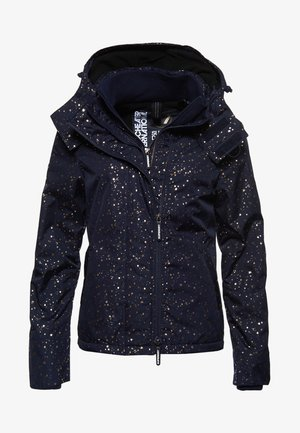ARCTIC PRINT POP SD-WINDCHEATER MET CAPUCHON EN RITS - Outdoor jacket - dark blue