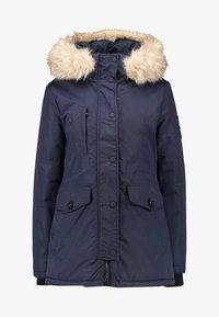 Superdry - ASHLEY EVEREST - Zimní kabát - navy - 5