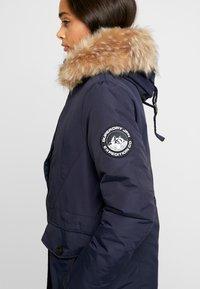 Superdry - ASHLEY EVEREST - Zimní kabát - navy - 4