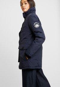 Superdry - ASHLEY EVEREST - Zimní kabát - navy - 3