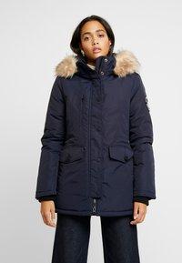 Superdry - ASHLEY EVEREST - Zimní kabát - navy - 0
