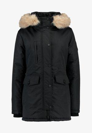 ASHLEY EVEREST - Abrigo de invierno - black