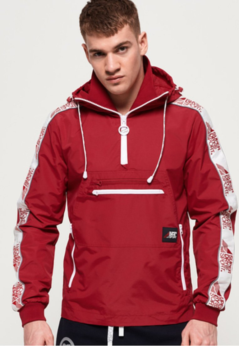 Superdry - JAVELIN  - Veste coupe-vent - red