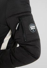 Superdry - SPHERE PADDED ULTIMATE - Zimní kabát - worn black - 5
