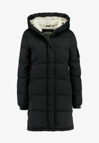 Superdry - SPHERE PADDED ULTIMATE - Zimní kabát - worn black - 4