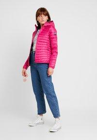 Superdry - HYPER CORE JACKET - Down jacket - pink - 1