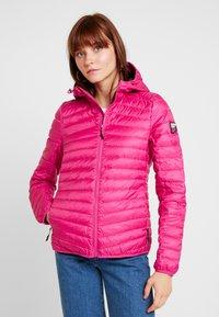Superdry - HYPER CORE JACKET - Down jacket - pink - 0