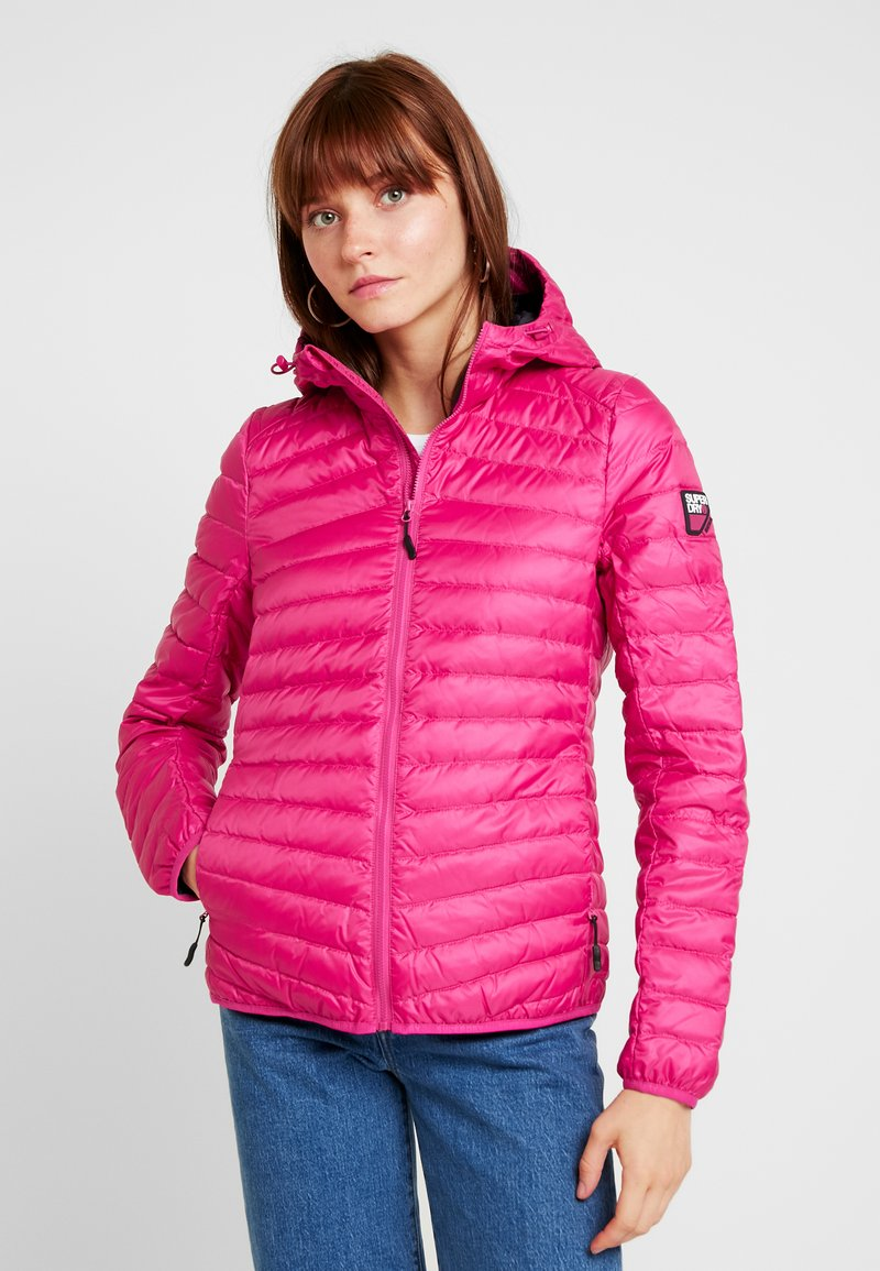 Superdry - HYPER CORE JACKET - Down jacket - pink