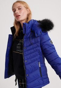 Superdry - 3 IN 1 JACKET - Light jacket - cobalt blue - 3
