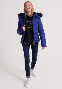 Superdry - 3 IN 1 JACKET - Light jacket - cobalt blue - 1