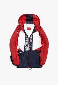 Superdry - Veste coupe-vent - navy blue/white/red - 5