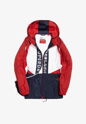 Windjack - navy blue/white/red