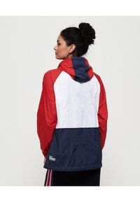 Superdry - Veste coupe-vent - navy blue/white/red - 2