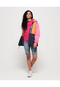 Superdry - Windbreaker - pink/orange/navy - 1