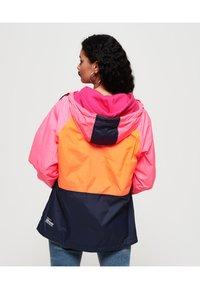 Superdry - Windbreaker - pink/orange/navy - 2
