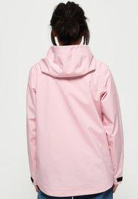Superdry - HARPA - Waterproof jacket - purple - 2