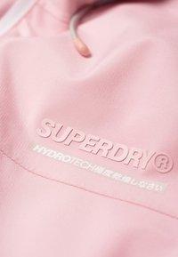 Superdry - HARPA - Waterproof jacket - purple - 3
