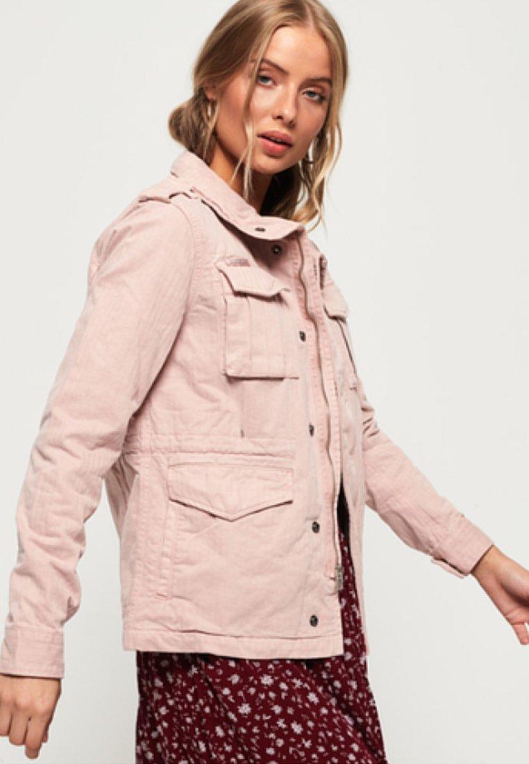 Superdry - CAMARI - Summer jacket - pink