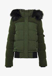 Superdry - ELLA SHERPA BOMBER - Winter jacket - army khaki - 7