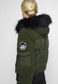 Superdry - ELLA SHERPA BOMBER - Winter jacket - army khaki - 6