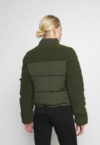 Superdry - ELLA SHERPA BOMBER - Winter jacket - army khaki - 4
