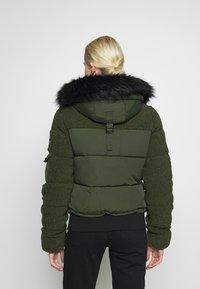 Superdry - ELLA SHERPA BOMBER - Winter jacket - army khaki - 2