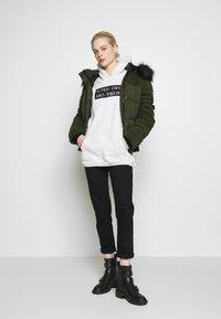 Superdry - ELLA SHERPA BOMBER - Winter jacket - army khaki - 1