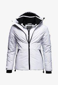 Superdry - VATTERET AEON JAKKE - Giacca outdoor - white - 5