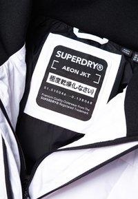 Superdry - VATTERET AEON JAKKE - Giacca outdoor - white - 4