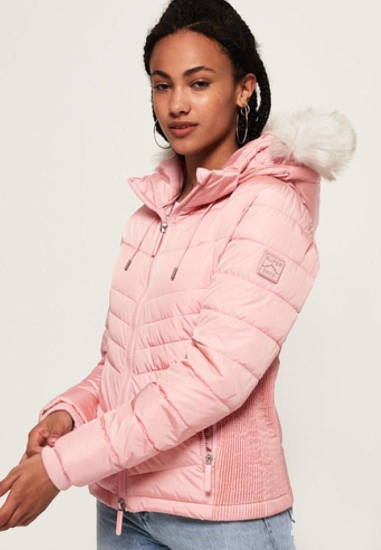 Superdry - Light jacket - pale pink