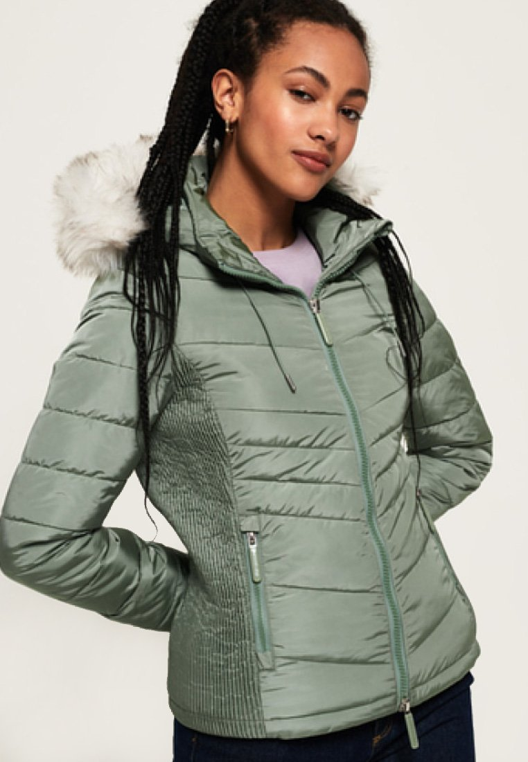 Superdry - Jas - turquoise