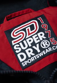 Superdry - Cortaviento - deep berry - 5