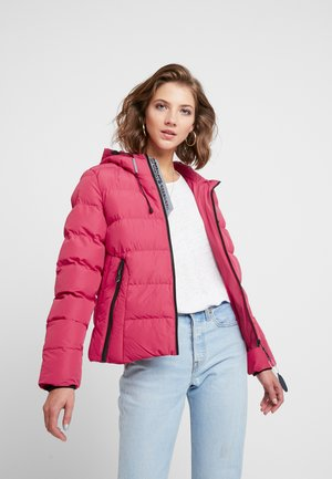SPIRIT PUFFER ICON  - Giacca invernale - rose red