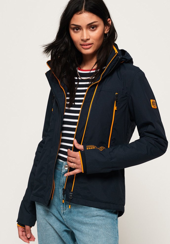 Superdry - VELOCITY - Outdoorjacke - navy blue